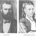Uncle Walter's Parents, Source: The Beinke Family, the descendents of August and Theodora Book